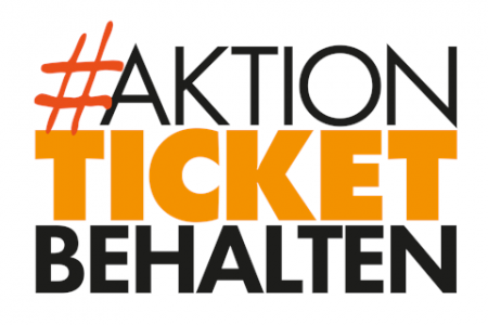 Aktion Ticket behalten